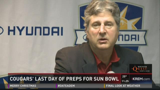 WSU and Miami coach making final touches before Sun Bowl