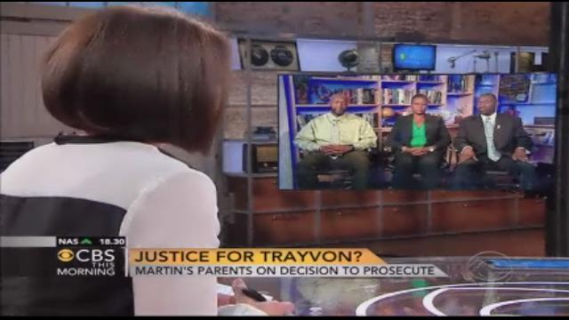 Trayvon Martin's parent speak out after Zimmerman charge
