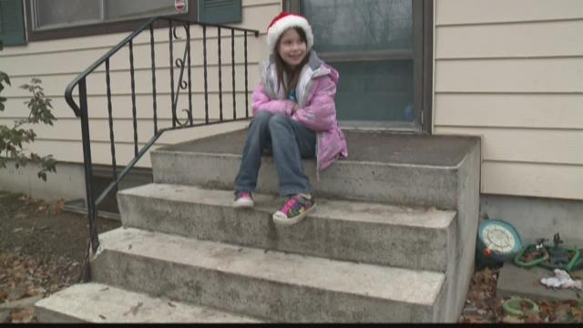 Spokane girl asks to feed the homeless for Christmas