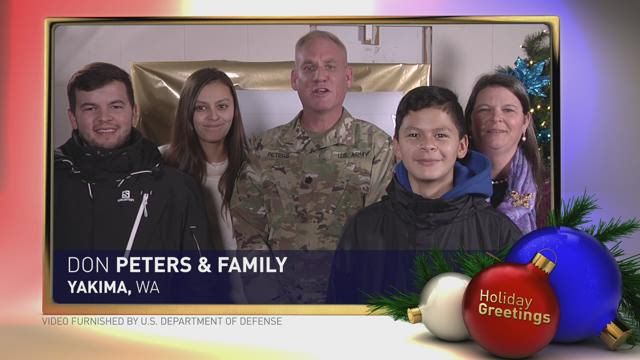 Holiday Greetings: Peters Family