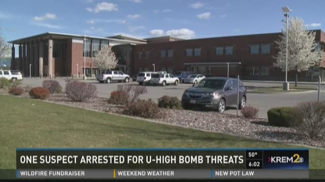 U High Bomb Threat for University High bomb