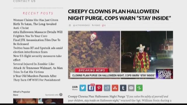 Halloween In Denver Birthday Massacre October 27 2020 Verify: No, clowns are not planning a purge on Halloween | krem.com