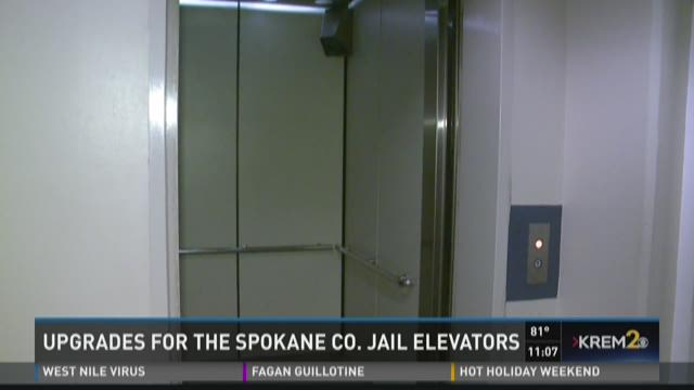 Upgrades coming to elevators at Spokane Co. Jail