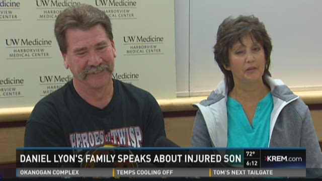 Daniel Lyon's family speaks about injured son