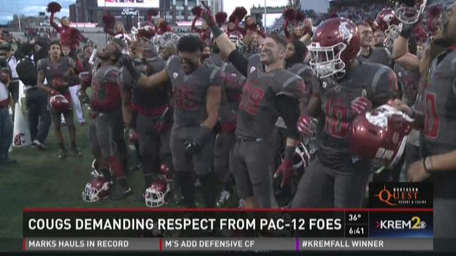 Cougs demanding respect from Pac-12 foes