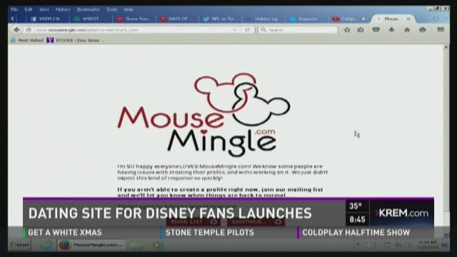 disney fans dating There's now a dating website to make your dreams of a disney romance a reality as mouse mingle matches up fans of the animated movies.