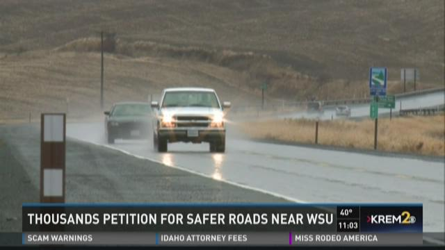 Dangerous highways near WSU.